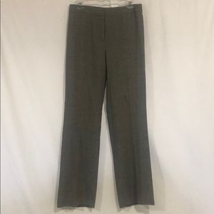 Lafayette 148 Gray Virgin Wool Trousers Size 8